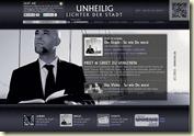 der Graf wirbt für sein neues Unheilig-Album