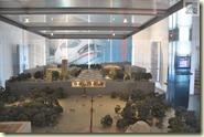 das Modell des neuen Bahnhofs im Turm-Forum