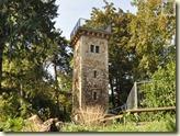 der Daimlerturm im Kurpark