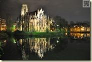 die nächtliche Johanneskirche