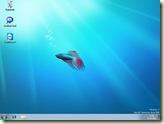 Betta-Fisch auf dem Windows-Desktop