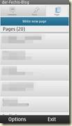 Seiten schreiben und verwalten