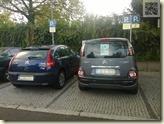 Falschparker an der Elektrotankstelle