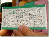 der erste eigene Fahrschein