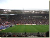 Blick in die Stadionrunde