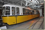 Wagen 722 im Straßenbahnmuseum Stuttgart