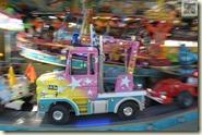 Karussell mit verschiedenen Autos