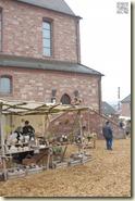 die mittelalterlichen Marktstände
