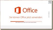 Office 2013 installieren warten