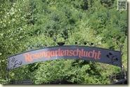 Eingang zur Rosengartenschlucht